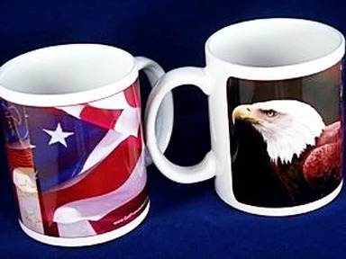 Custom Patriotic Mug - 11oz Ceramic Mug