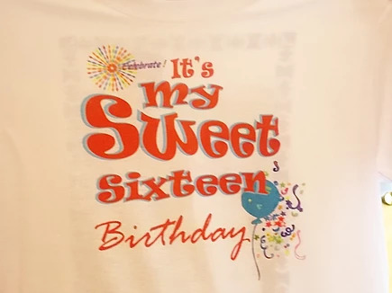 Birthday Tee - Graphic Design Both Side
