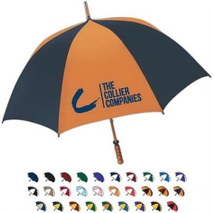 Umbrellas - Compact, Golf Unbrellas, See Through, Wind Vents, All Over Print Umbrella