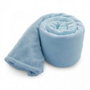 Baby Blue Mink Blanket - Soft & Smooth to the touch